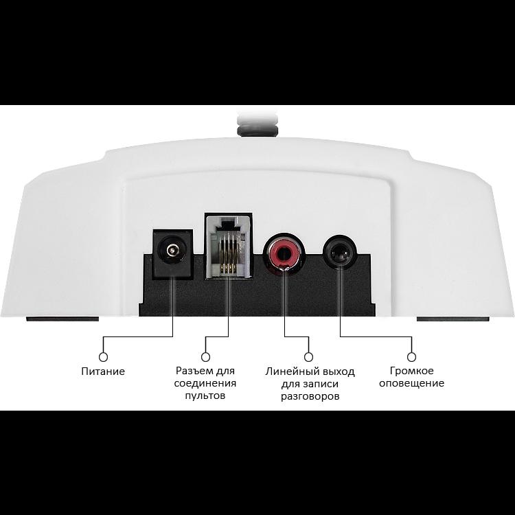Переговорное устройство громкой связи директор-секретарь Stelberry D-600