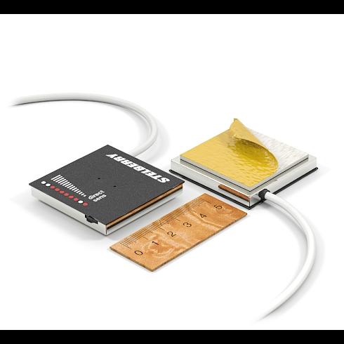 Активный направленный микрофон Stelberry M-1000 с регулировкой чувствительности и направленности для записи разговоров и распознавания речи