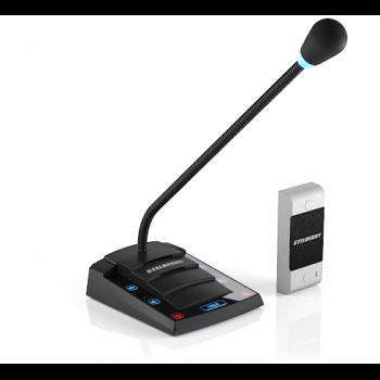 Цифровое переговорное устройство «клиент-кассир» Stelberry S-500 с функцией громкого оповещения