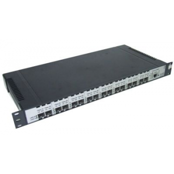 Медиаконвертер (транспондер) 8-канальный STM, ATM, Gigabit Ethernet 1U