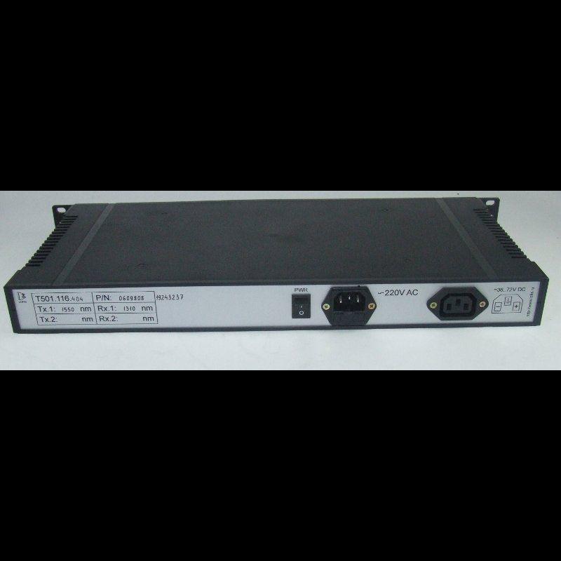 Оптический мультиплексор 16xE1+Gigabit Ethernet 1000BASE-T+4x RS-485, без SFP трансиверов