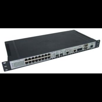 Мультиплексор модульный оптический 8x E1 + Gigabit Ethernet 1000BASE-T + 4x RS-485
