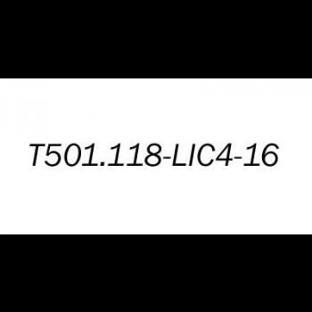 Лицензионный ключ на увеличение E1 портов с 4 до 16 для T501.118.400