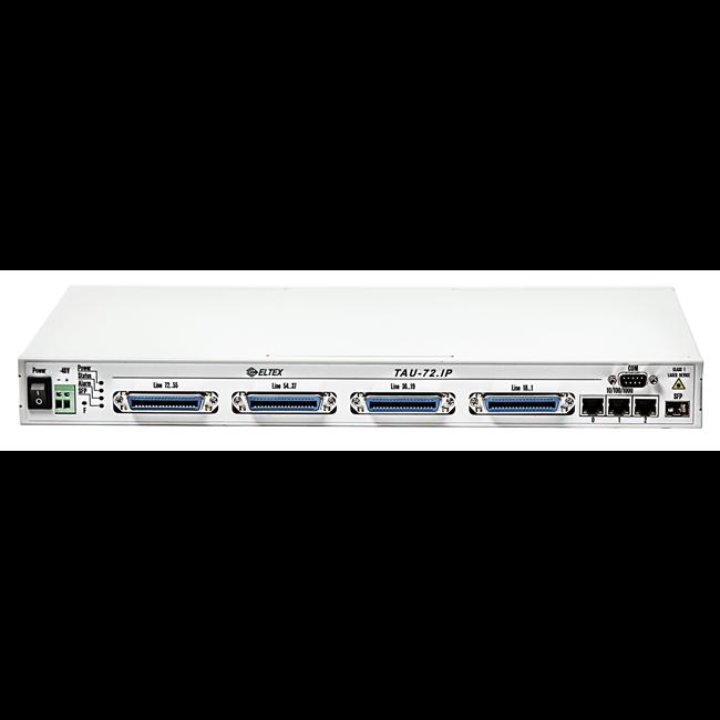 VoIP-шлюз Eltex TAU-72.IP, DC 48V