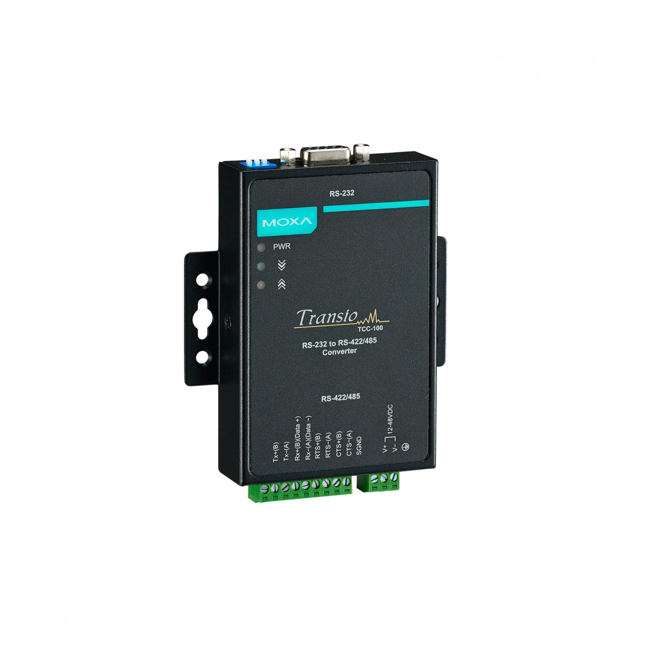 Конвертер TCC-100I RS-232 в RS-422/485 c изоляцией 2 кВ