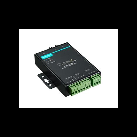 Конвертер TCF-142-M-ST-T RS-232/422/485 в многомодовое оптоволокно с расширенным диапазоном температур