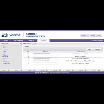 Лицензия на дополнительные 4 канала QAM модуляции для карты QAMO TANTRAX