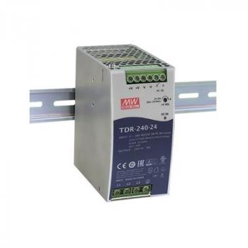 TDR-240-24 Блок питания на DIN-рейку, 24В, 10А, 240Вт Mean Well