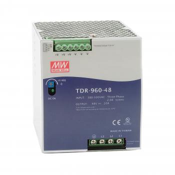 TDR-960-24 Блок питания на DIN-рейку, 24В, 40А, 960Вт Mean Well