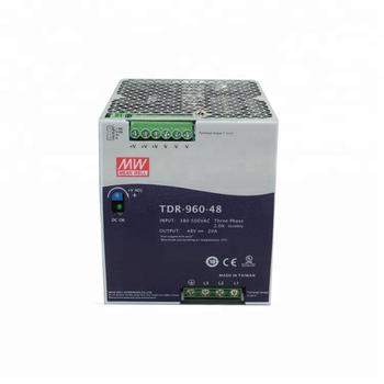 TDR-960-48 Блок питания на DIN-рейку, 48В, 20А, 960Вт Mean Well