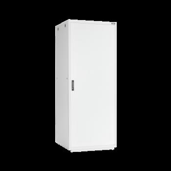 """Напольный шкаф 19"""", 42U, металлическая дверь, Ш800хВ2065хГ800мм, в разобранном виде, серый"""