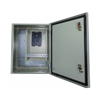 Металлический шкаф  с установленым оптическим кросом для PSW-2G-UPS