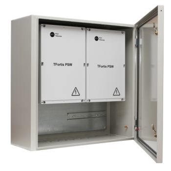 Металлический шкаф с оптическим кроссом для всех моделей PSW