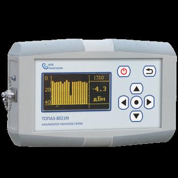 Оптический анализатор каналов  CWDM ТОПАЗ-8021N