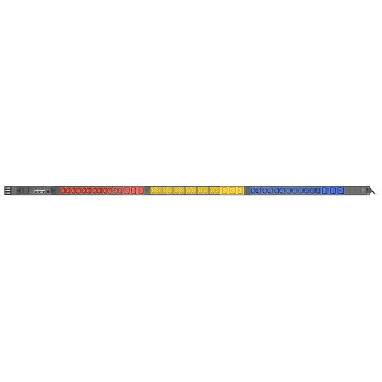 Контролируемый блок розеток Tesla Power серии BASIC, 36 розеток C13, 9 розеток C19, вход  IEC60309 16A(3P+N+E) уценка