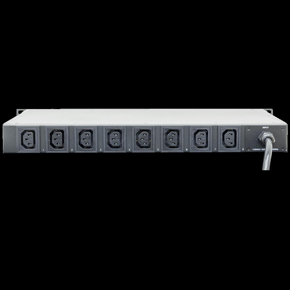 Управляемый блок розеток Tesla Power серии PRO 8 розеток
