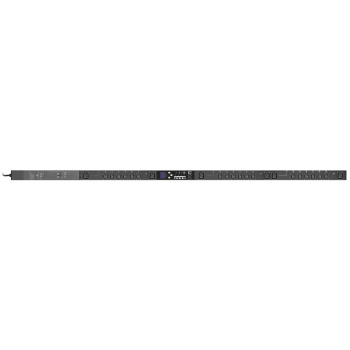 Блок розеток с функциями измерения и управления каждой розеткой серия PRO, 18xC13, вход IEC60309 32A (2P+PE)