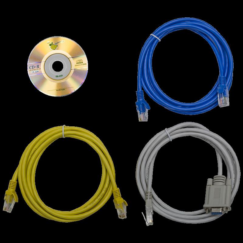 Блок розеток с функциями измерения и управления каждой розеткой серия STD, 18xC13, 6xC19, вход IEC60309 3x16A (3P+N+PE)