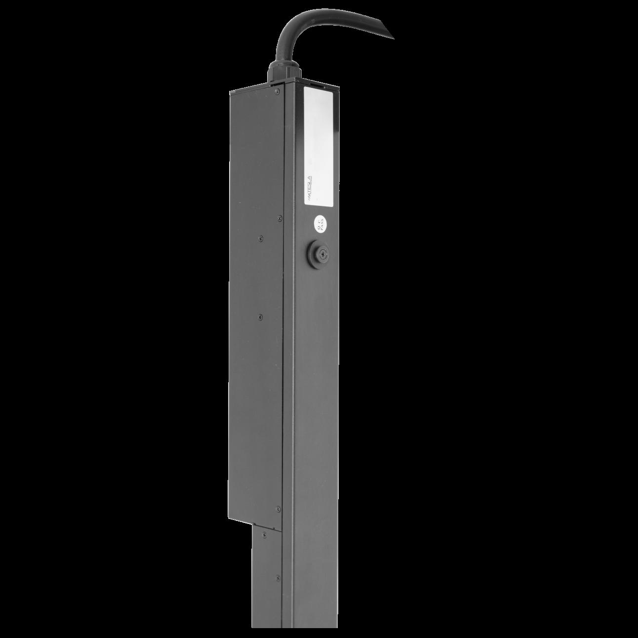 Блок розеток с функциями измерения и управления каждой розеткой серия STD, 18xC13, 6xC19, вход IEC60309 32A (2P+PE)