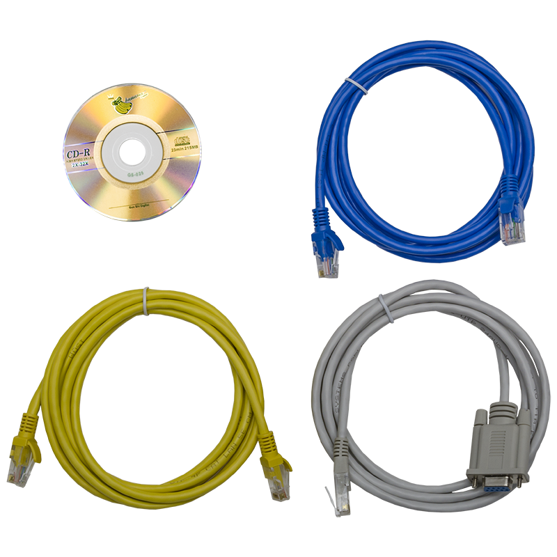 Блок розеток с функциями измерения и управления каждой розеткой, серия STD, 20xC13, 4xC19, вход IEC60309 32A (2P+PE)