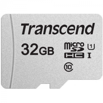 Флеш-накопитель Transcend Карта памяти Transcend 32GB UHS-I U1 microSD
