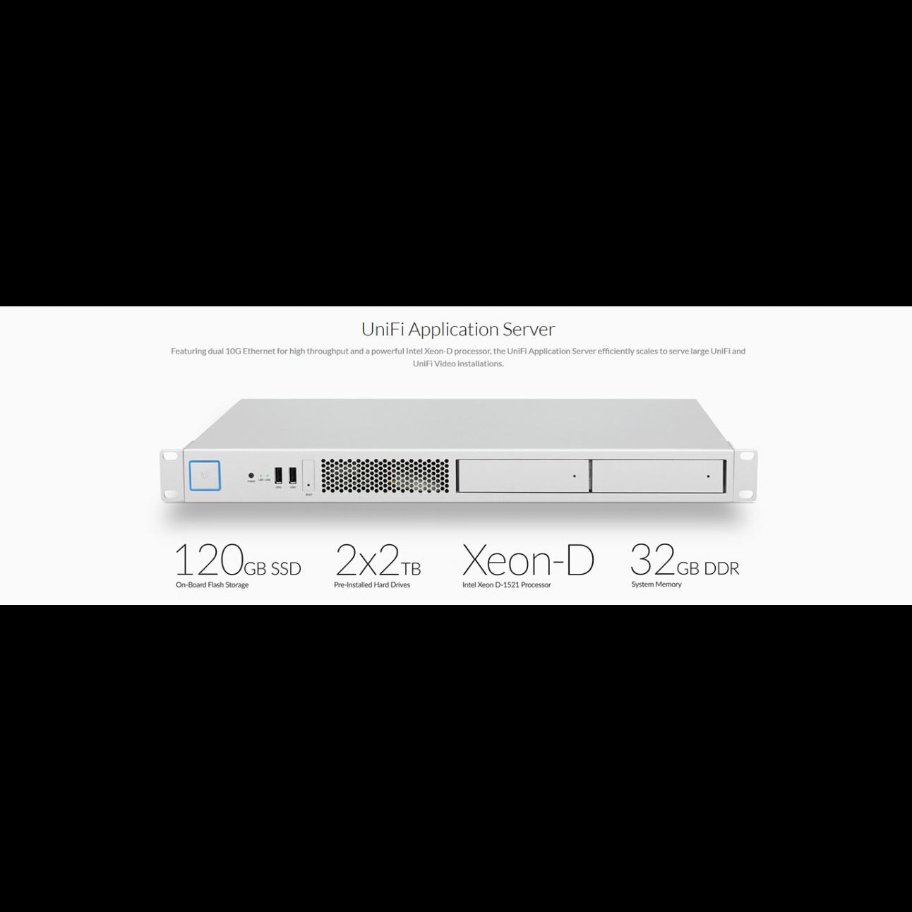 Сервер приложений Ubiquiti UniFi XG
