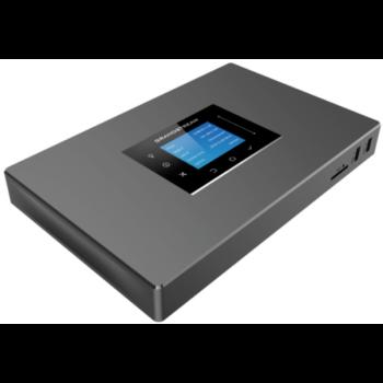 Grandstream UCM6302 - IP ATC. До 1000 абонентов/150 одновременных вызовов, до 150  участников в конф., 2хFXS, 2xFXO, 1xWAN, 1xLAN