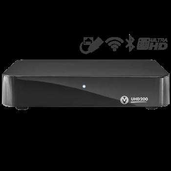 Приставка телевизионная 4K IPTV Vermax UHD200X2G