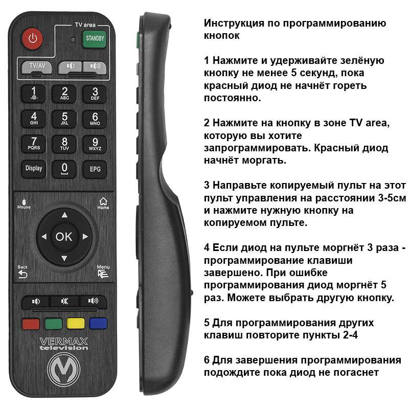 Приставка телевизионная 4K IPTV Vermax UHD300