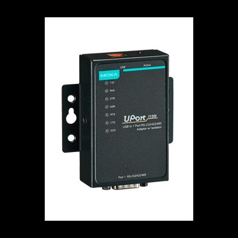UPort 1150I 1-портовый преобразователь USB в RS-232/422/485 с изоляцией 2 КВ MOXA