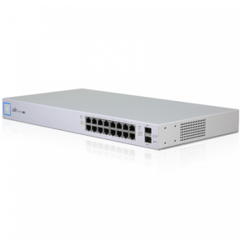 Коммутатор Ubiquiti UniFi Switch PoE, 16 портов, 150W