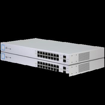 Коммутатор Ubiquiti UniFi Switch PoE, 16 портов, 150W