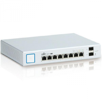 Коммутатор Ubiquiti UniFi Switch PoE 8 портов 150W