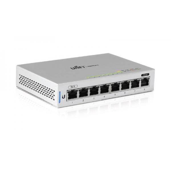 Коммутатор Ubiquiti UniFi Switch PoE 8 портов 60W