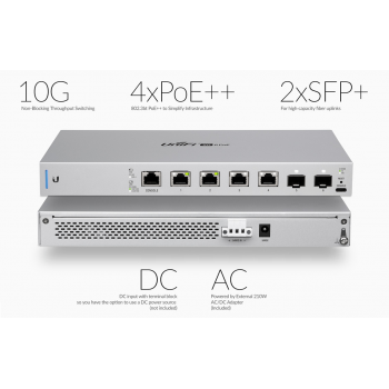 Коммутатор Ubiquiti UniFi Switch XG PoE 10Gb/s