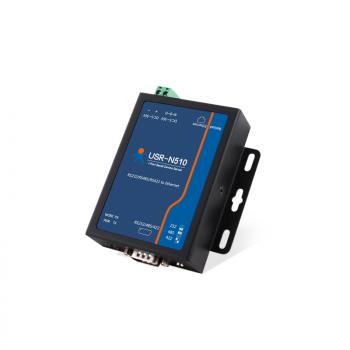 1-портовый конвертер интерфейсов RS232/RS422/RS485 в Ethernet TCP/IP, металл корпус