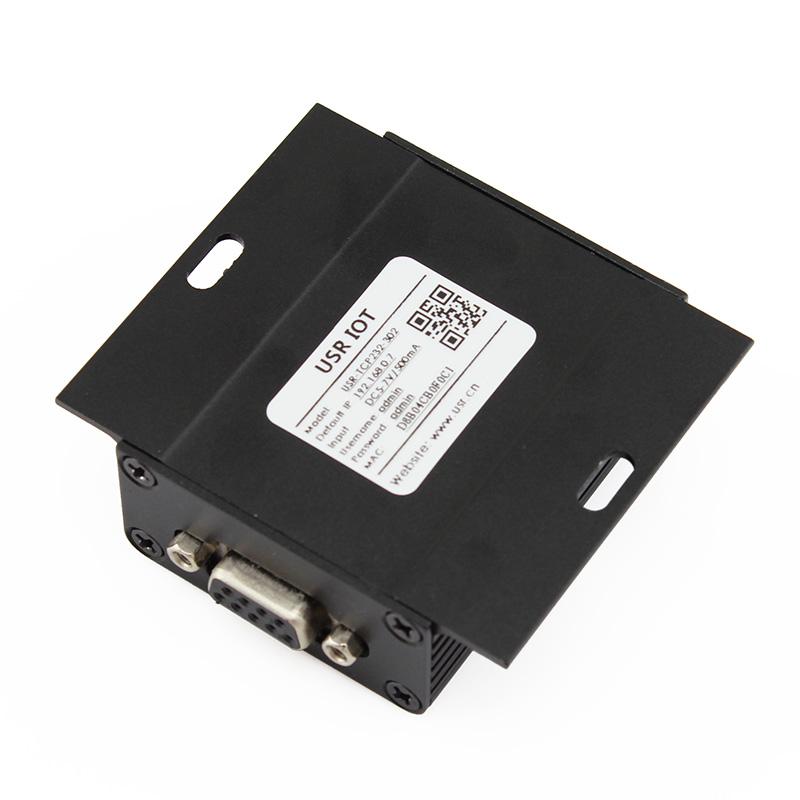 Конвертер интерфейсов TCP232-302, металл корпус, блок питания