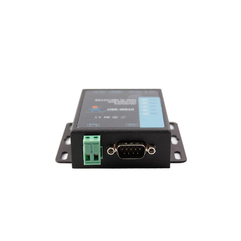 Конвертер интерфейсов RS232/RS485 в WiFi/Ethernet TCP/IP, металл корпус, блок питания