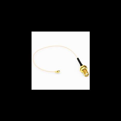 Антенный адаптер Uf.l-female (I P X) - 240мм -SMA-female угловой