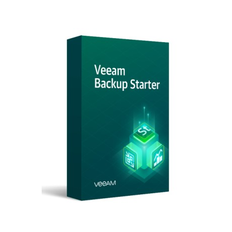 Лицензия Veeam Backup Starter Standard 10 Instances на 1 год
