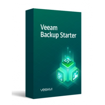Лицензия Veeam Backup Starter Standard 10 Instances на 1 год