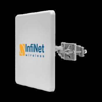 Беспроводной мост Infinet Вектор 5, 4.9-6 ГГц, 460 Мбит/с, 2x27 дБм, 23 дБи (комплект)