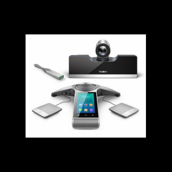 Tерминал видеоконференцсвязи для средних переговорных комнат, Yealink VC500-Phone-Wired-WP