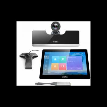 Tерминал видеоконференцсвязи для средних переговорных комнат, Yealink VC500-VCM-CTP-WP