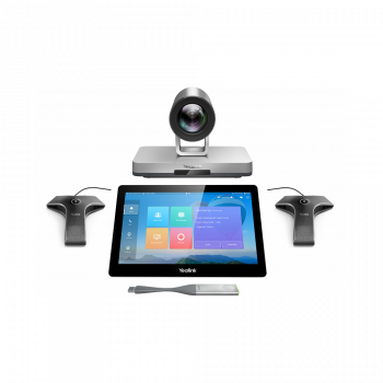 Tерминал видеоконференцсвязи для больших переговорных комнат, Yealink VC800-VCM-CTP-WP