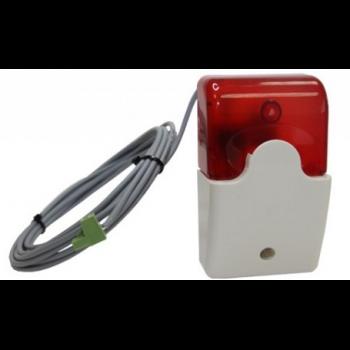 Звуковой и световой сигнализатор (уценка, после теста)