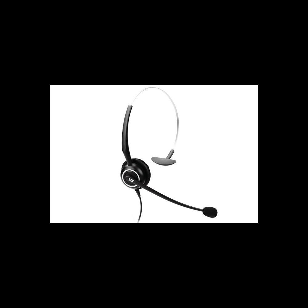 Проводная гарнитура VT5000-D QD(P)-RJ9(03), Дуо, Узкополосный звук, QD, переходник QD-RJ09(03)
