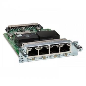 Модуль Cisco VWIC3-4MFT-T1/E1