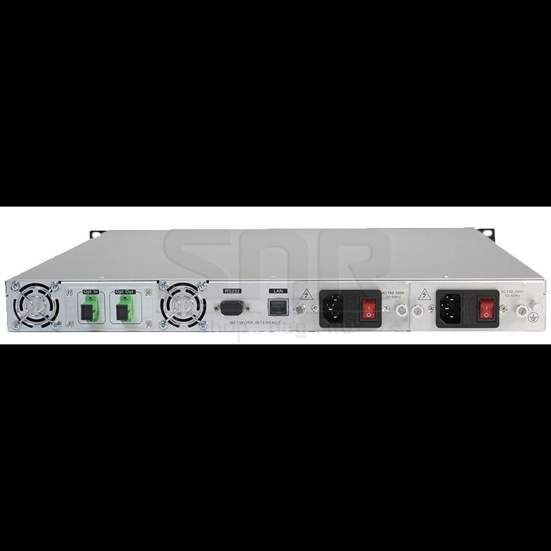 Оптический усилитель VERMAX для сетей КТВ, 18dBm