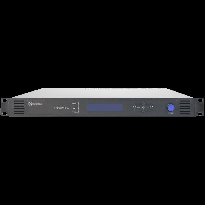Передатчик оптический для сетей КТВ Vermax-HL-1550CM-2x10